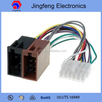 Pioneer Car Radio Stereo 12 Pin White_350x350 pioneer car radio stereo 12 pin white iso wiring harness buy lcd iso wire harness at bayanpartner.co