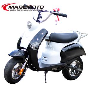 71cc pull starter big wheel gas scooter