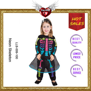 2017 Hot Sale High Quality Halloween Baby Girls Party Dress Costumes