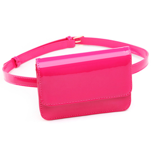 Wholesale Fashion Small Women PU Leather Waist Pack Belt Bag Women