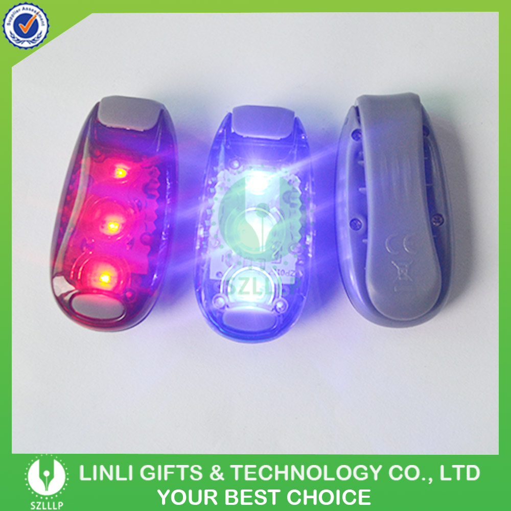 3 Super Bright Led Flashing Clip Light