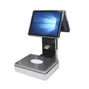 POS Weighing Scale with POS System and Printer for Fruits and Seafood Stores