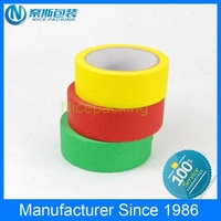 29 years factory specialized any masking tape size, colorful masking tape