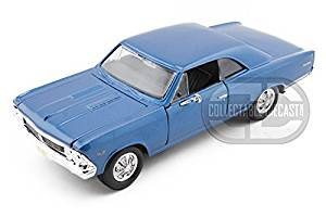 1966 Chevy Chevelle SS396 1/24 Blue