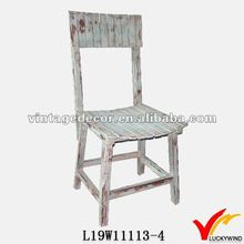 Vintage <span class=keywords><strong>shabby</strong></span> chic de la <span class=keywords><strong>silla</strong></span> de madera