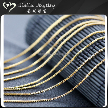 487bd5bed Unisex Different Types Of Gold Necklace Chains Jewelry Designs - Buy ...