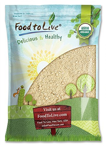Organic Black Maca Powder by Food to Live (Raw Ground Maca Root, Non-GMO, Kosher, Fine Flour, Bulk) (4 Pounds)