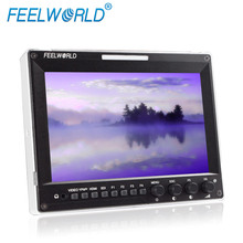 Feelworld 7 pollice apparecchiature di trasmissione radio full HD SDI monitor HDMI IPS 1280x800 A7