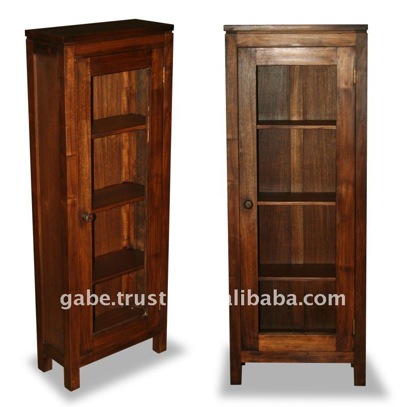 Houston 4 Shelves Small Cabinet Wooden Antique Standing Product On Alibaba