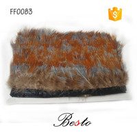 Cheap price wholesale headmade natural feathers pheasant trimmings decorations