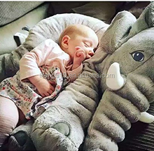 Baby Children's Elephant Pillows Soft Plush Stuff Dolls Soft Plush Toys Lumbar Pillow LTBP-040