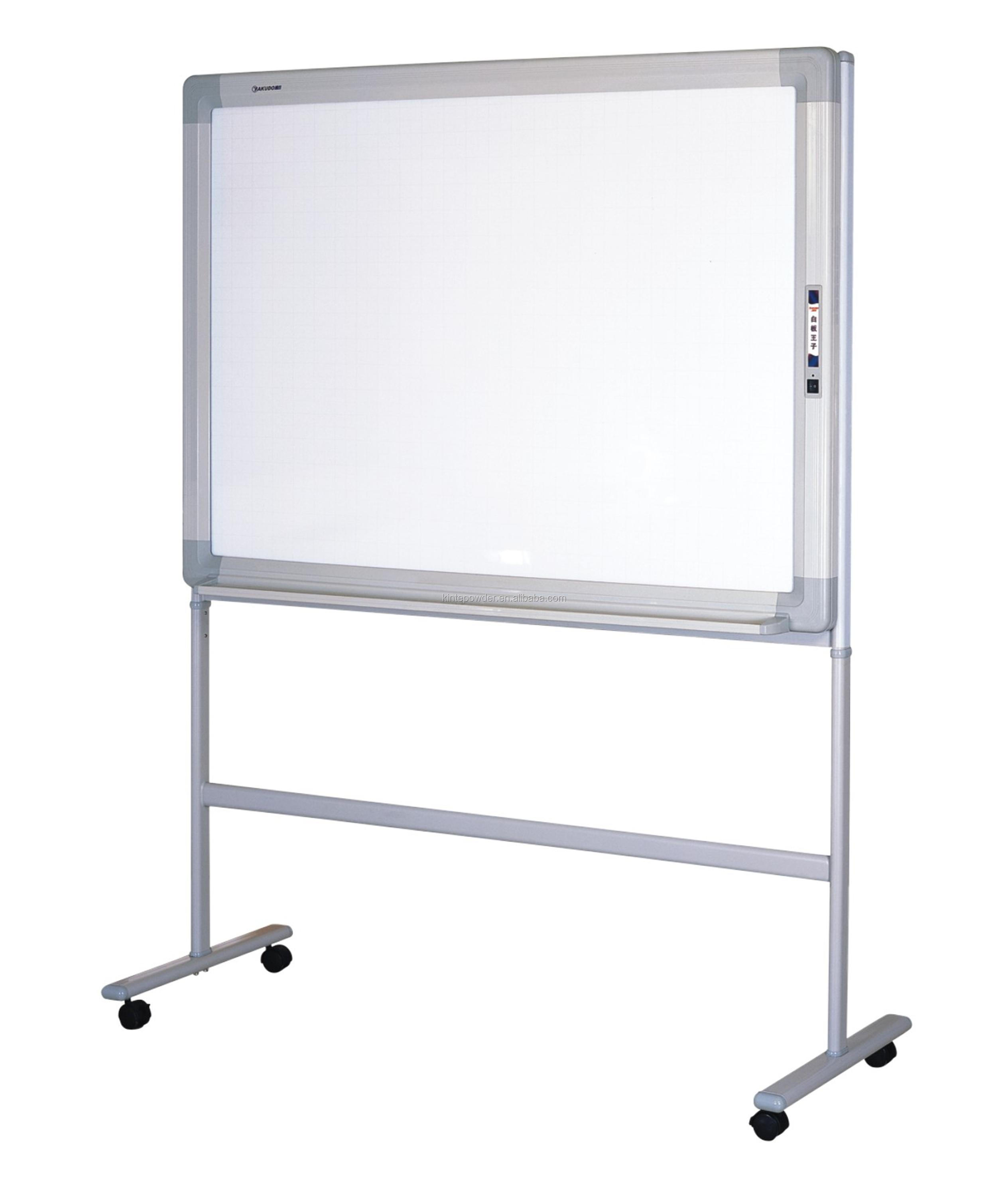 Anti graffiti powder coating writing board and sign board