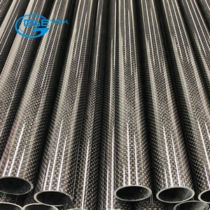 GDE Corrosion-proof high strength post tension carbon fiber pipe tube