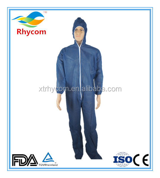 PP/SMS disposable durable antistatic type 56 coverall