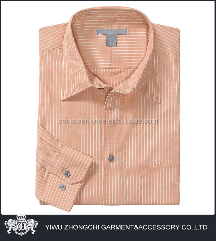 Stripe Peach Color Shirt Men - Buy Peach Color Shirt Men,Peach ...