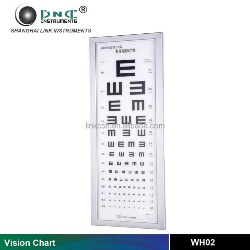 Wh03 Eye Testing Equipment C Ring Visual Acuity Chart