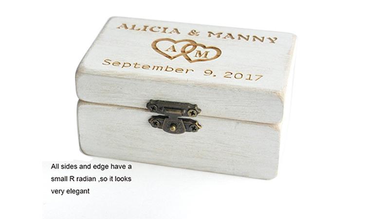ODM ที่กำหนดเองทำหรูหรากล่องของขวัญบรรจุภัณฑ์ไม้