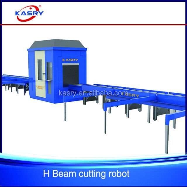 Cheap H beam cnc plasma/flame cutting machine(axis-optional),cutting pipe/rectangular/profile automatically