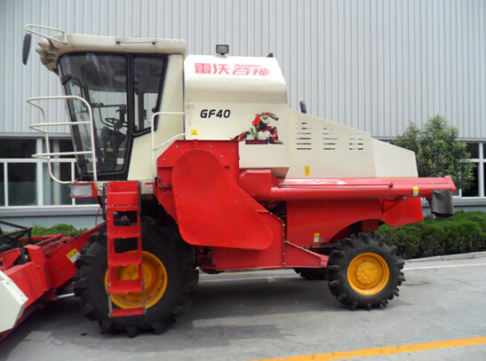 Wheat and rice combine harvester FOTON Agricultural Machinery Harvester GF40 in Solomon Is