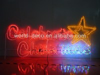 2D led christmas figures / 3D christmas motif light