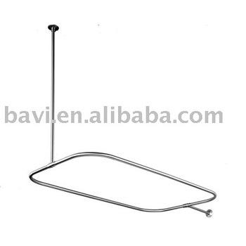 tringle rideau de douche ovale buy tringle rideau de douche product on. Black Bedroom Furniture Sets. Home Design Ideas