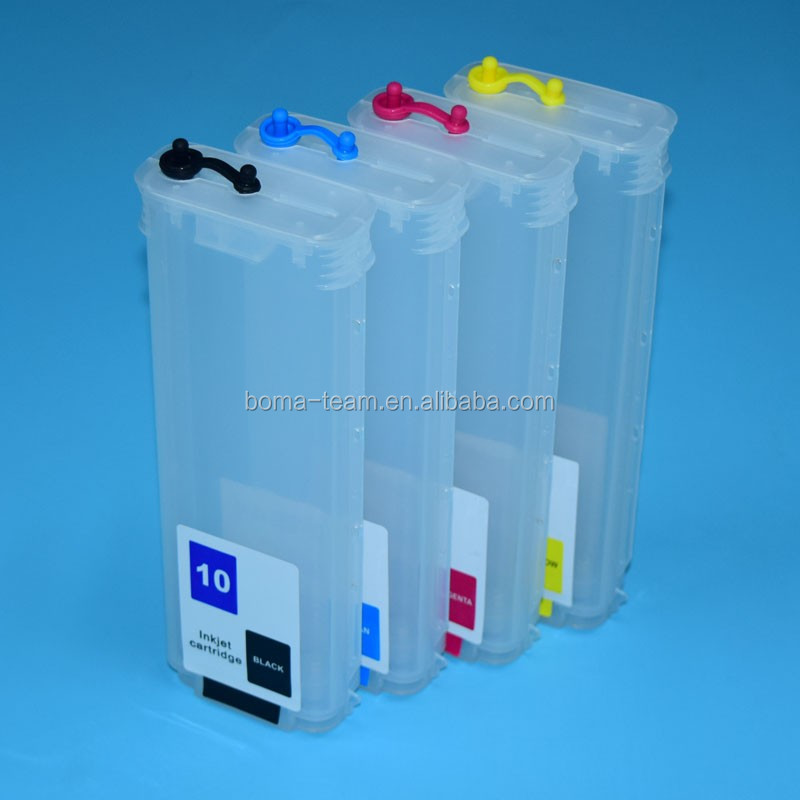 Plotter For Hp Designjet 500 800 Refill Ink Cartridge For Hp 10 82 ...