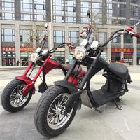 2019 New Model Citycoco 2000W 20AH Removable Battery Scooter Electric Motorcycle