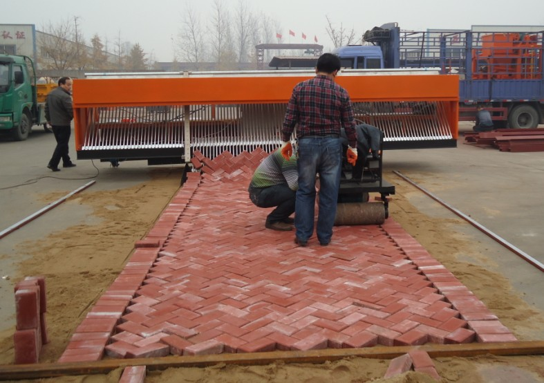 brick paver machine