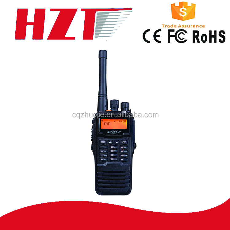 antique radio VHF 136-174mhz KIRISUN TP660 DMR digital high tech ham radio walkie talkie with Encryption waterproof IP67