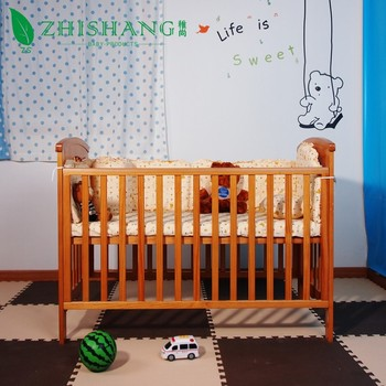 Baby Bed Wieg.Zhishang Dennenbos Baby Bed Wieg Meubels Cot Buy Massief Houten