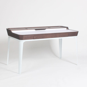Modern Mid century Modern Garbo Desk for home