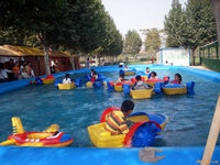 Child Boat Outdoor Inflatable Pool Water Game In Park - Buy ...