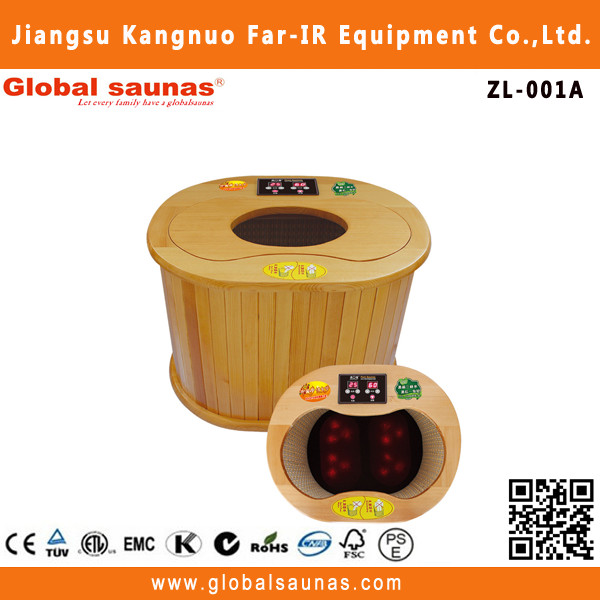 The Classic Foot Sauna Feet Sauna Tourmaline Heat Foot Sauna With Magnetic Layer And Electric Massager ZL-001A
