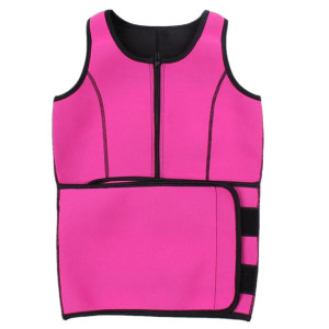 Neoprene Sauna Sweat Vest Waist Trainer Slimming Vest For Women Weight Loss With Adjustable Waist Shaper Belt