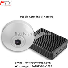 Not Fake iDS-2CD6412FWD/C 720P HD People Counting Smart Hikvision IP Camera