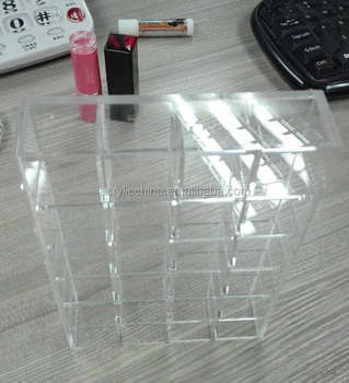 wholesale mac clear acrylic lipstick holder