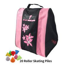 KUFUN встроенный рюкзак для коньков, сумка для роликовых коньков, обувь, рюкзак, сумка для роликовых коньков, рюкзак для взрослых, рюкзак, сумка...(Китай)