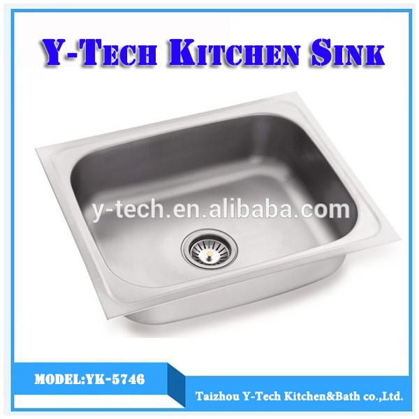 New Model Of Stainless Steel Lavabo Philippines Kitchen Sink YK 5746
