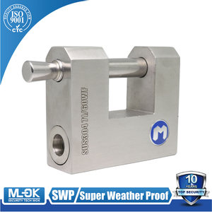 MOK @71/50WF50mm 60mm 70mm anti strong muriatic acid stainless steel master key globe padlock