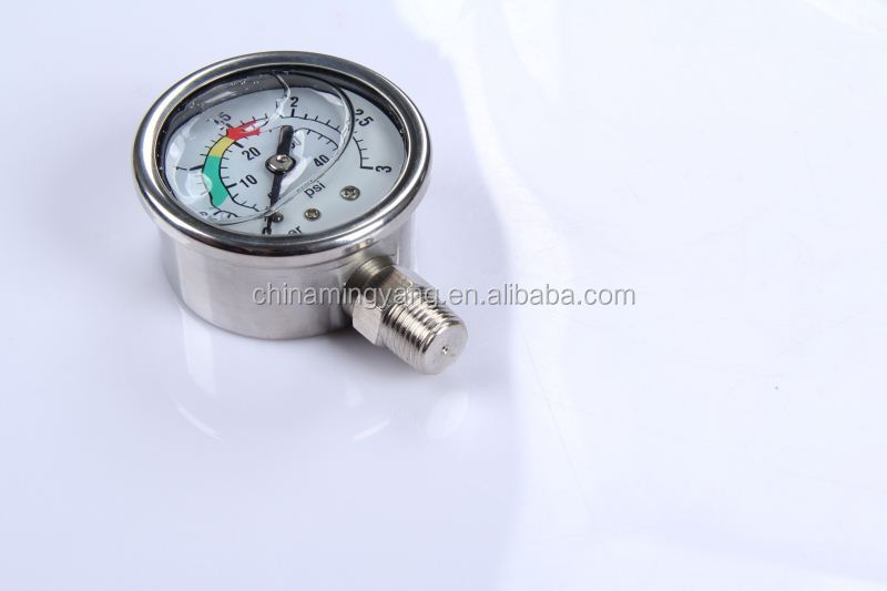 New Design Durable Light Weight Easy To Read Clear ngv hot sale auto fuel auto fuel pressure meter
