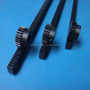 High quality cnc gear rack and pinion plastic nylon gear rack