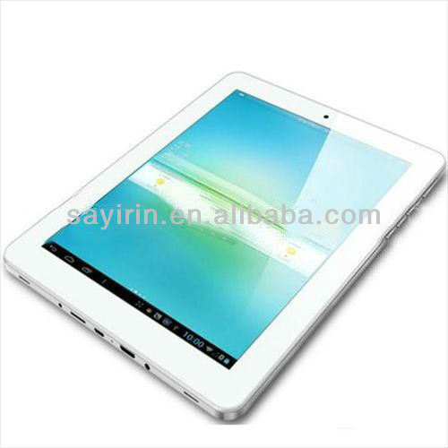 9.7 inch Allwinner A31 Quad Core tablet android pc price china 3g tablet pc