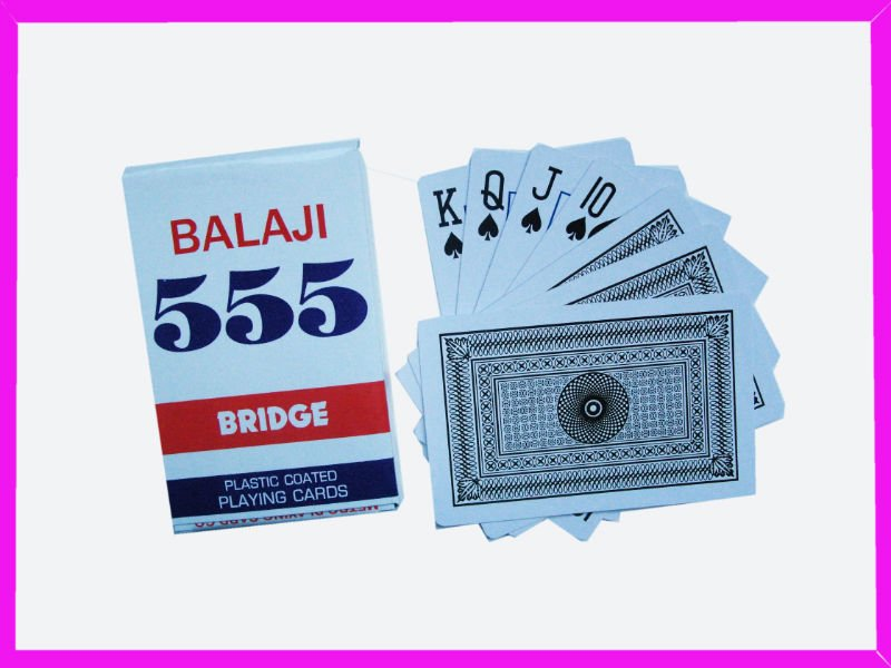 India 555 Custom Playing Cards