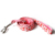 Size S Spring Juicy Strawberry Nylon Webbing Solid Dog Leash by Walking