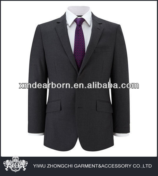 men wool & polyester suit