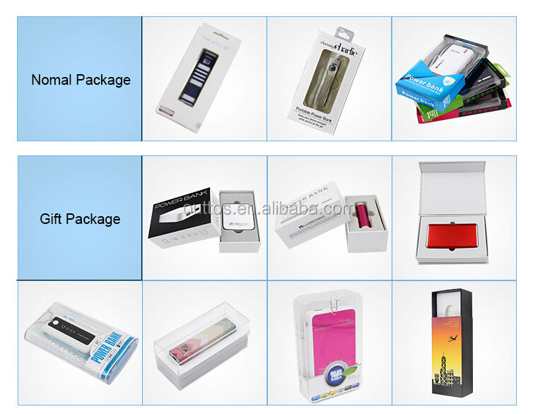 Hot cell phone battery pack portable charger rohs power bank 6000mah