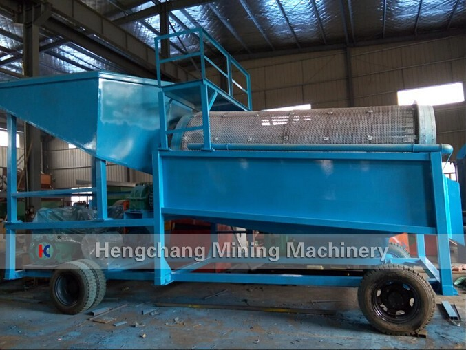 small gold extraction mini gold trommel for sale.jpg