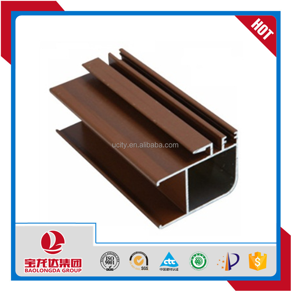 Building Material Anodized Aluminum Extrusion Profile