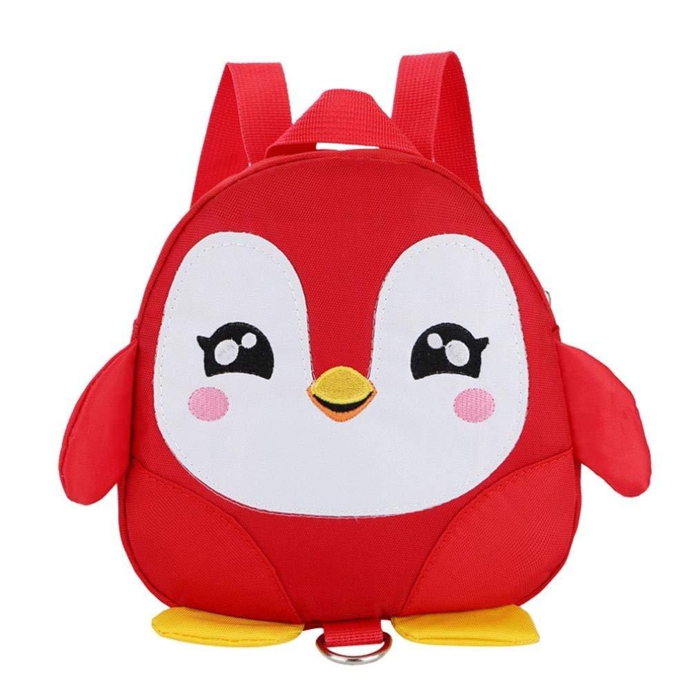 Get Quotations · Kids 3D Penguin Backpack Bag for Little Boys Girls 6ba0533147dc3