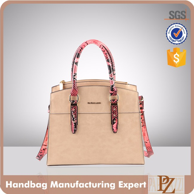5127 Paparazzi since 1992 bueno designer private label exotic eco faux leather fashion bag ladies handbag 2016